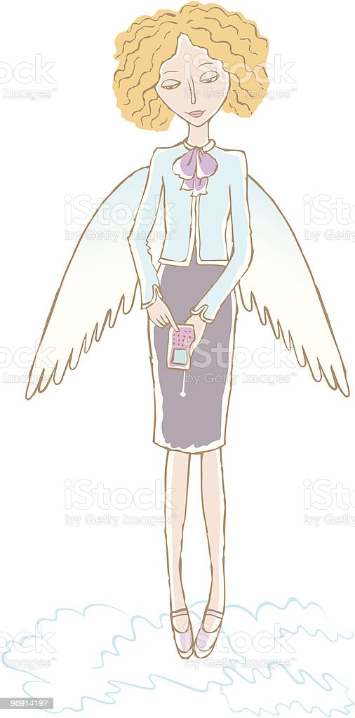 Angel girl royalty-free angel girl stock vector art & more images of adult