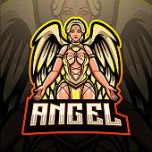Angel mascot design
