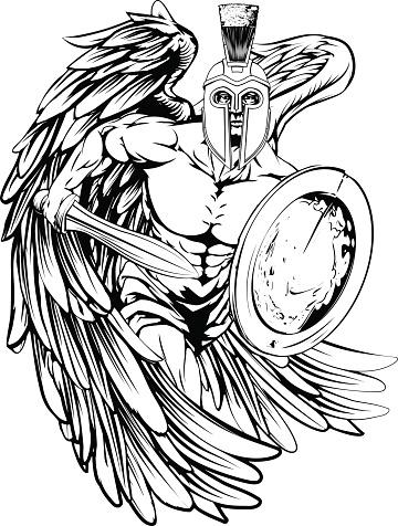 Angel mascot