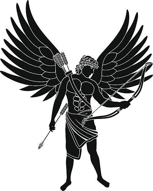 Best Warrior Angel Illustrations, Royalty-Free Vector ...