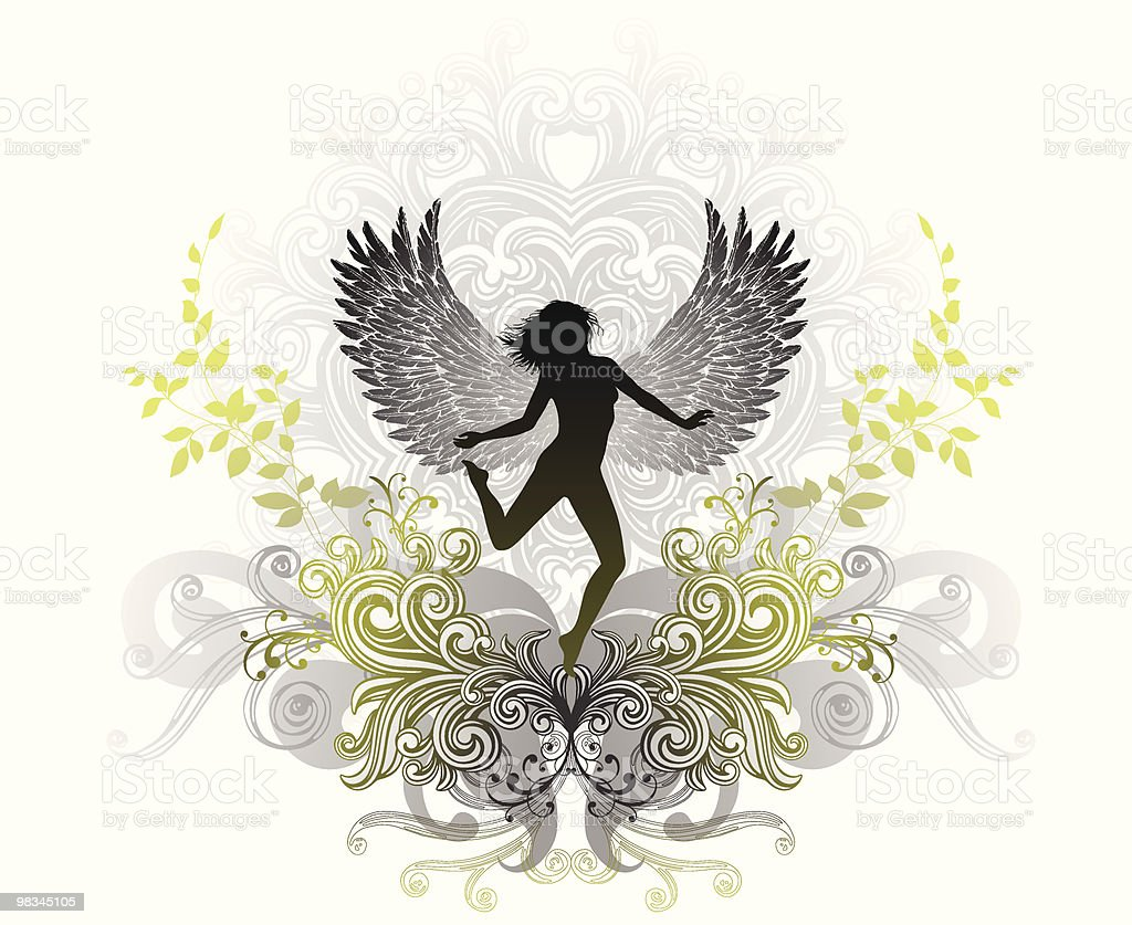 Angel royalty-free angel stock vector art & more images of adult