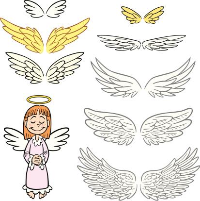 Angel Wings Set