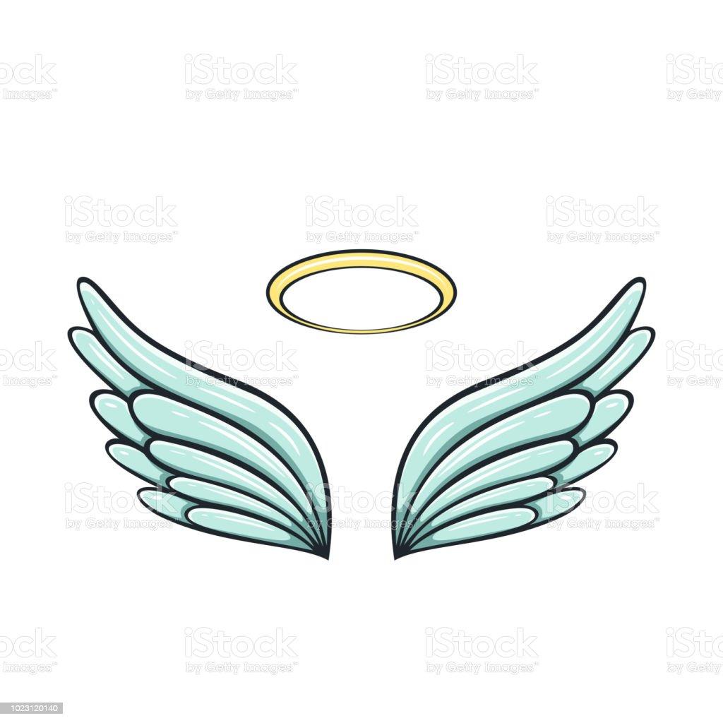天使の羽 ベクターアートイラスト
