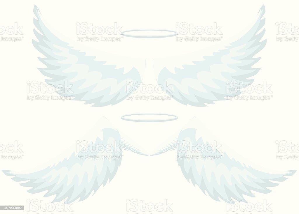 天使の羽 イラストレーションのベクターアート素材や画像を多数ご用意