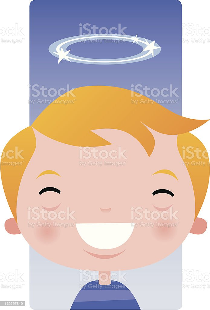 Angelic Boy royalty-free angelic boy stock vector art & more images of boys