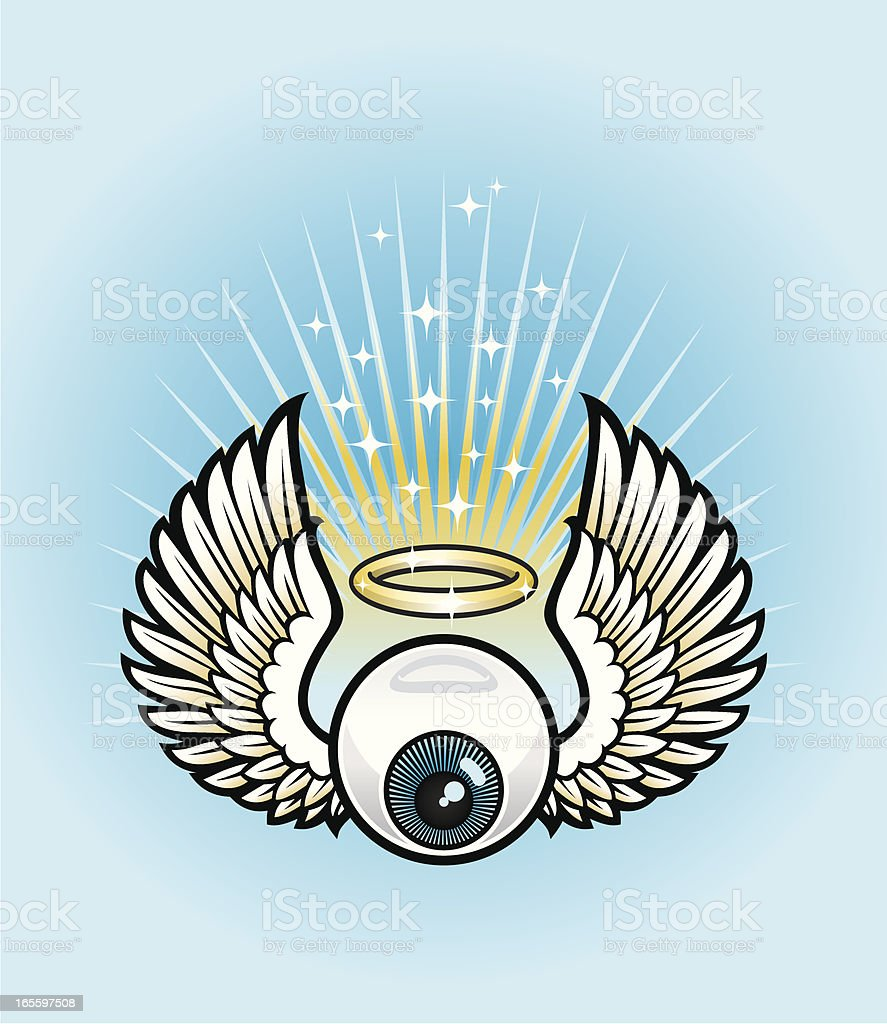Angelic eye royalty-free angelic eye stock vector art & more images of cartoon