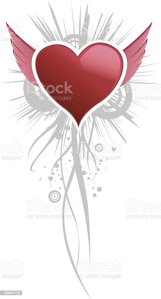 angel's heart royalty-free angels heart stock vector art & more images of affectionate