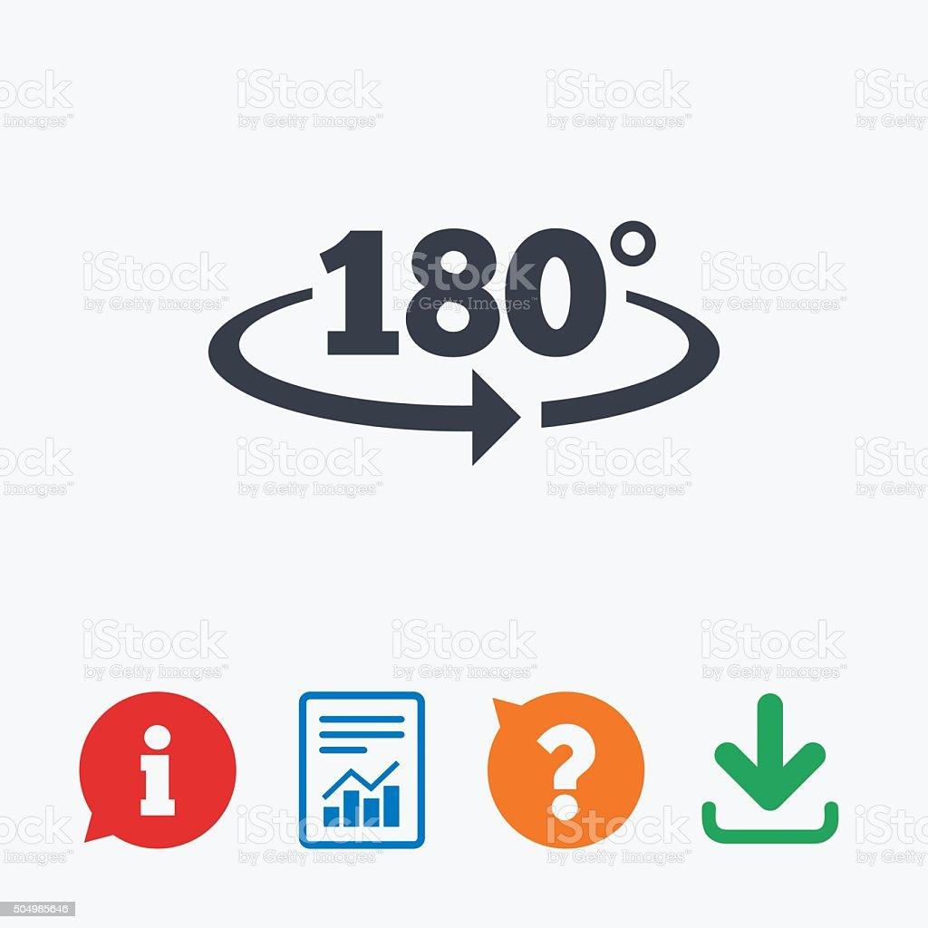 Icne De Signe Angle De 180 Symbole Math Gomtrie Cliparts