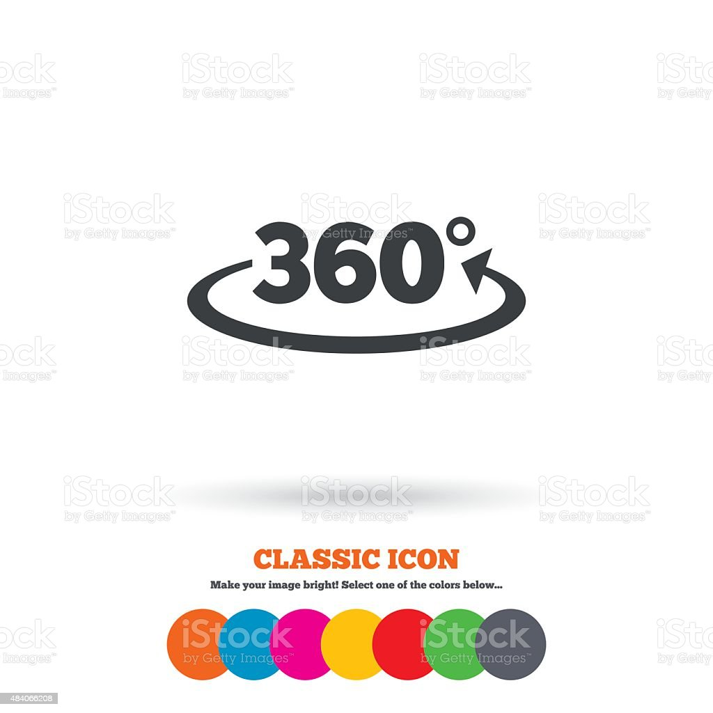 Angle 360 degrees sign icon geometry math symbol stock vector art angle 360 degrees sign icon geometry math symbol royalty free angle 360 degrees sign buycottarizona