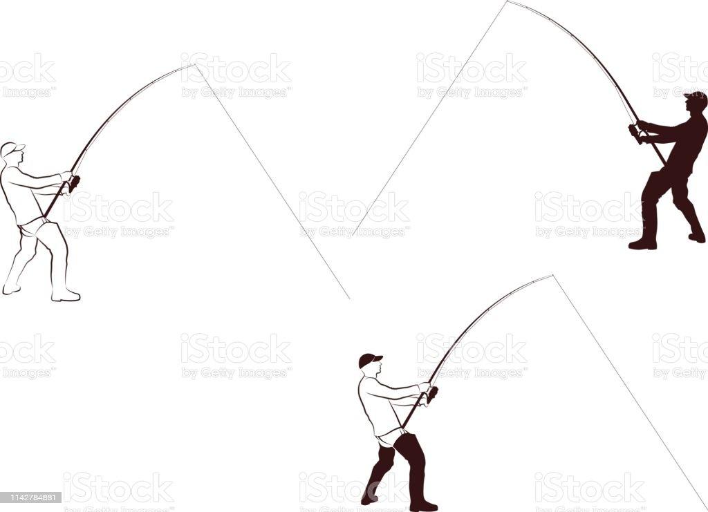 Angler – Vektorgrafik