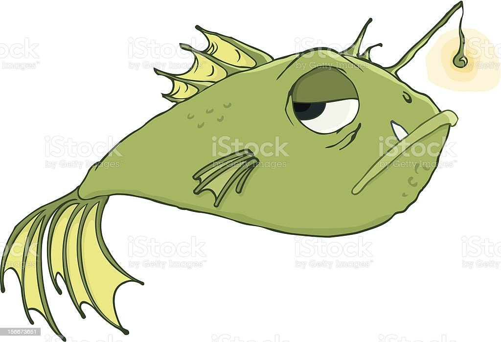 Anglerfish royalty-free stock vector art