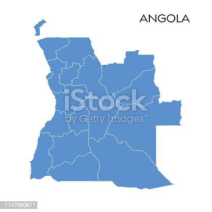 istock Angola map 1147560611