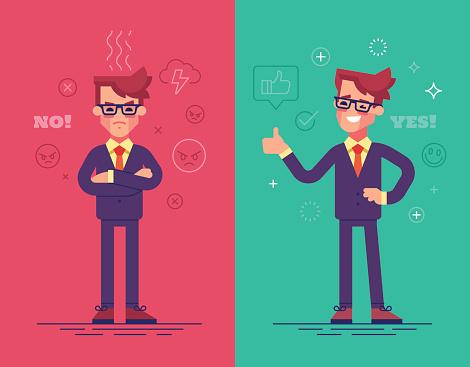 Man stock illustrations