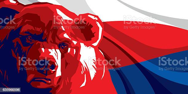 Angry bear against and russian flag vector id635966596?b=1&k=6&m=635966596&s=612x612&h=qeqmbzxiv8l1voahyiwoz cw1txdjs66iiphfmlsw4w=