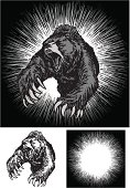 Angry Bear Attack