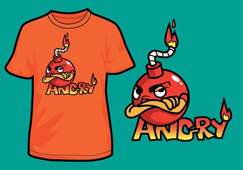 Angry Bomb T-Shirt