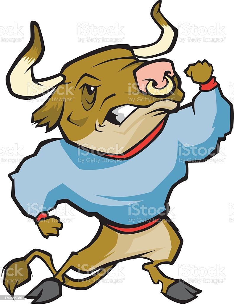 Angry Bull royalty-free angry bull stock vector art & more images of anger