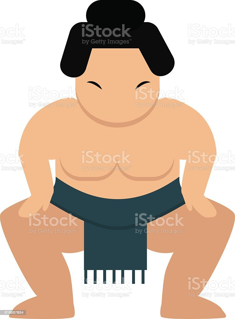 fat naked sumo wrestler