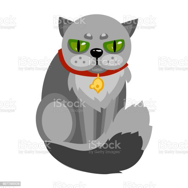 Angry cat with big green eyes illustration vector id937265526?b=1&k=6&m=937265526&s=612x612&h= arot3vt4hrnv6ba94ptm04gkjcqvnllzyns6hpfll4=