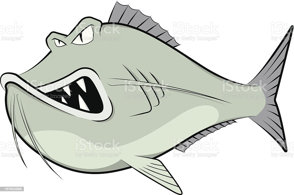 royalty free mean catfish clip art vector images illustrations rh istockphoto com catfish clipart black and white catfish clipart free