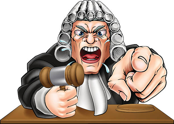 angry judge cartoon - old man crying stock illustrations, clip art, cartoons, & icons