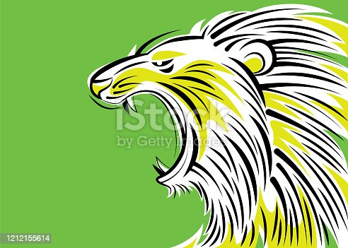 istock angry lion roaring 1212155614