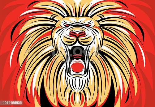 istock angry lion roaring 1214455505