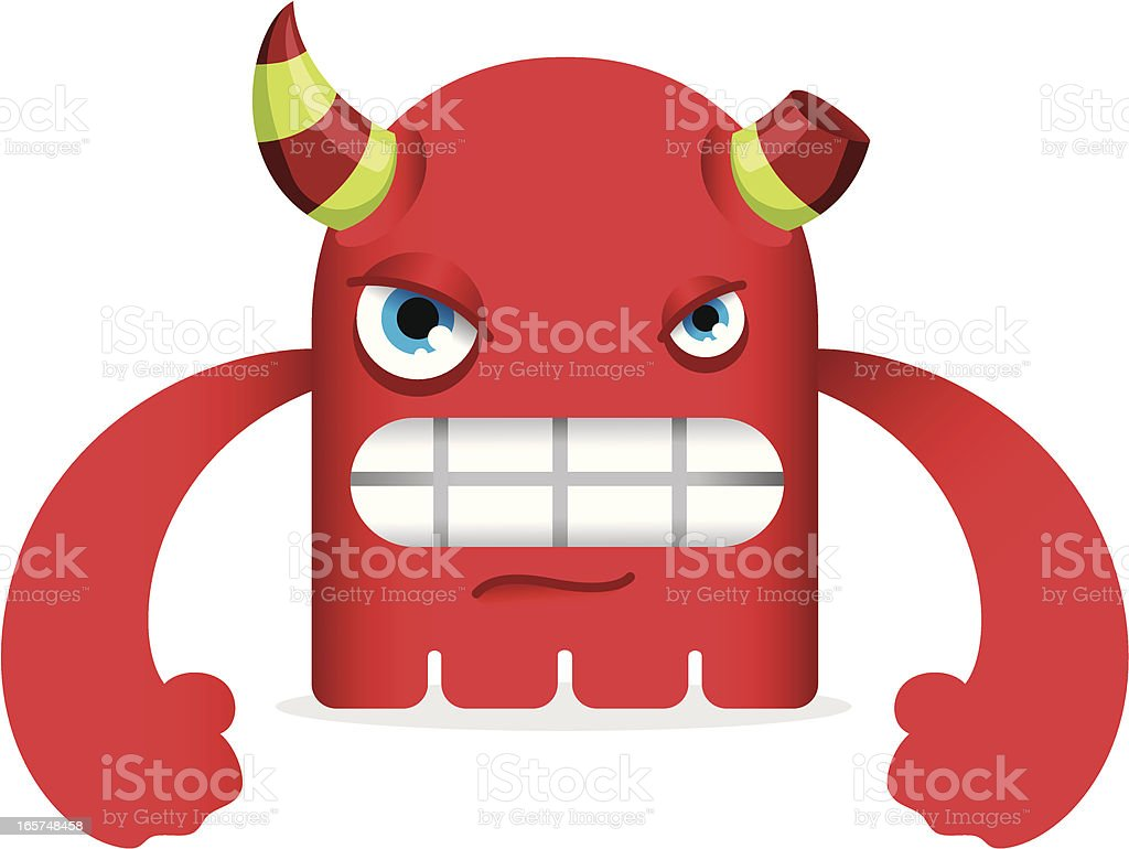 Angry Little Monster royalty-free angry little monster stock vector art & more images of anger