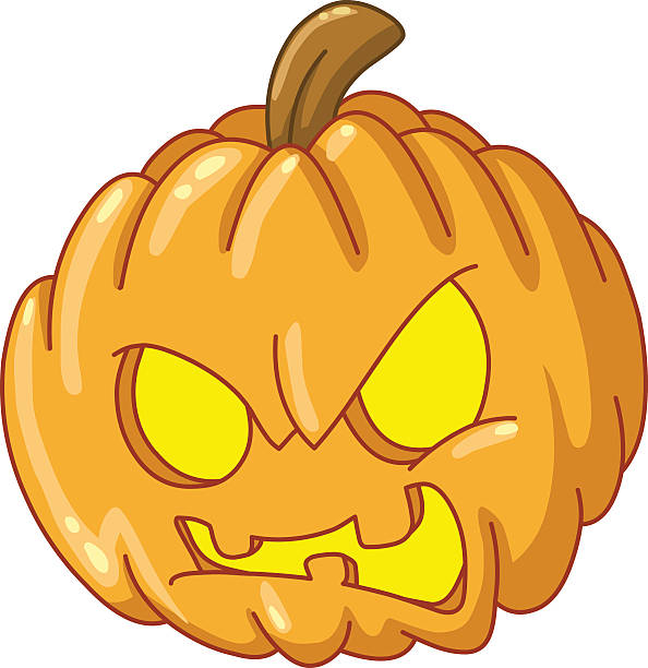 angry pumpkin - jealous emoji stock illustrations, clip art, cartoons, & icons
