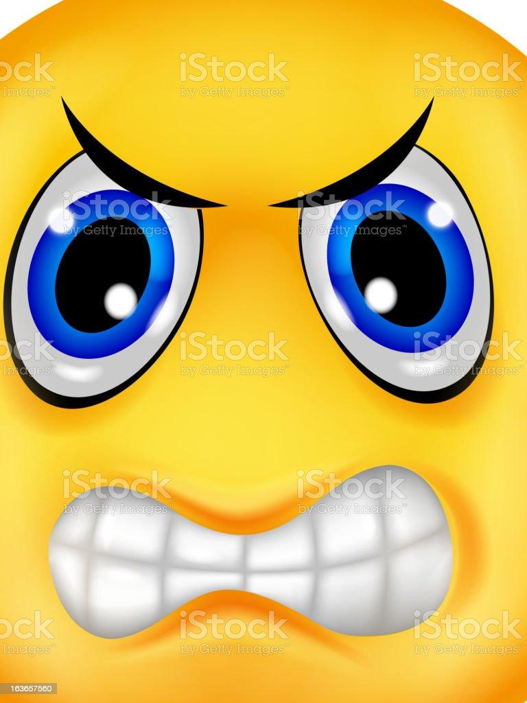 Wütende Smileys