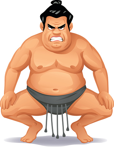 Angry Sumo Wrestler