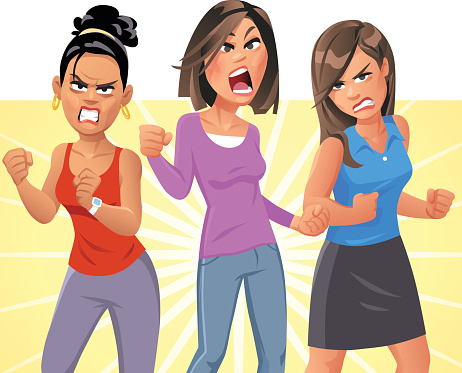 Angry Young Women