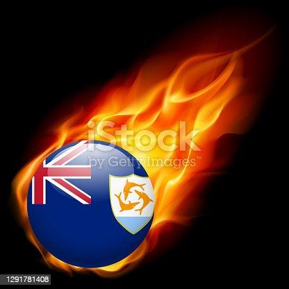 istock Anguilla flag 1291781408