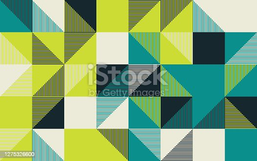 istock Angular Vector Pattern Design Abstract Background 1275326600
