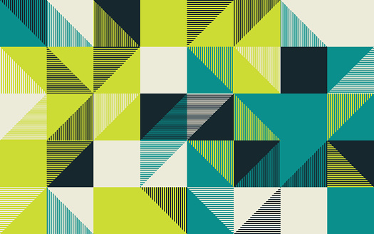 Angular Vector Pattern Design Abstract Background