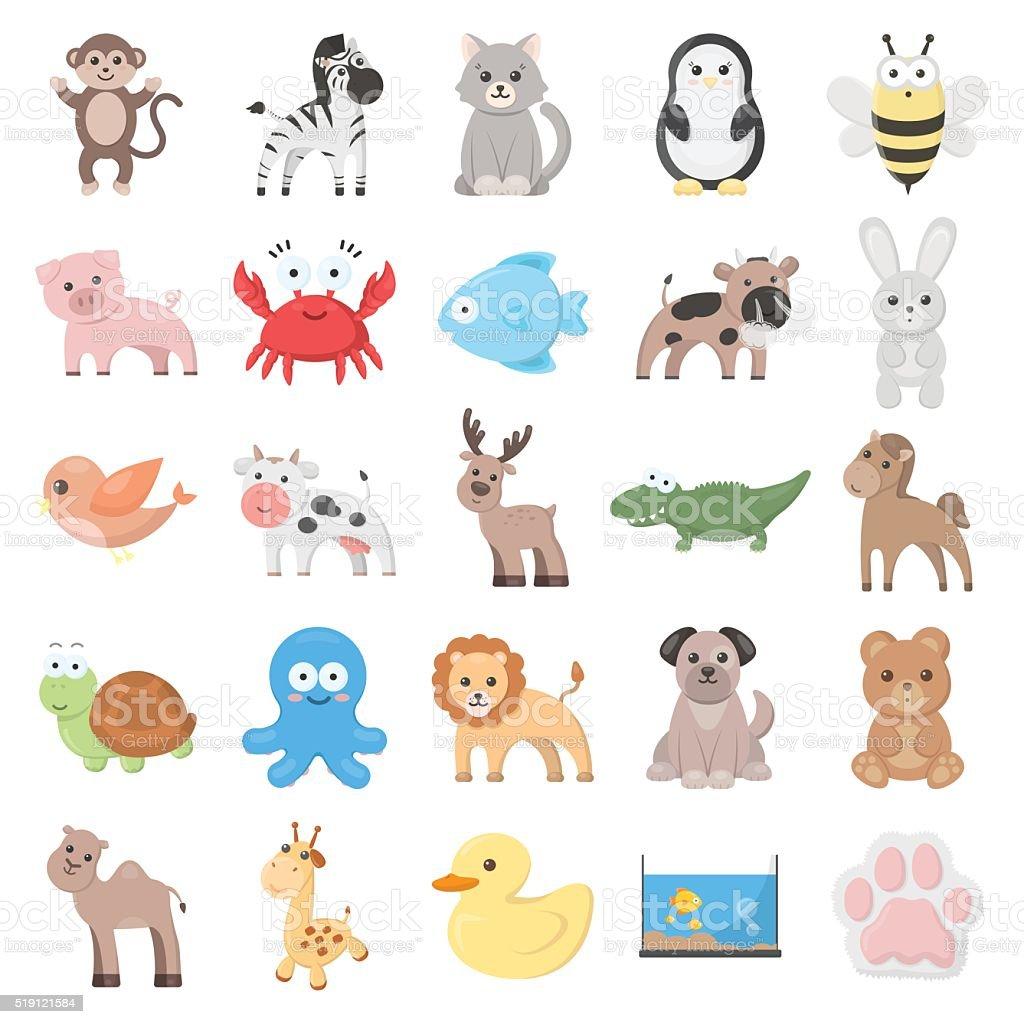 動物イラストアイコンセットの 25 ウェブサイト - アイコンセットの