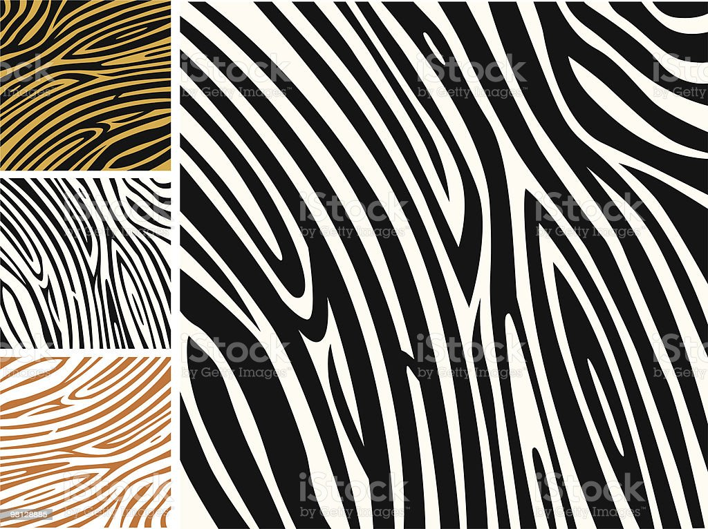Animal abstract background pattern - zebra skin print royalty-free animal abstract background pattern zebra skin print stock vector art & more images of abstract