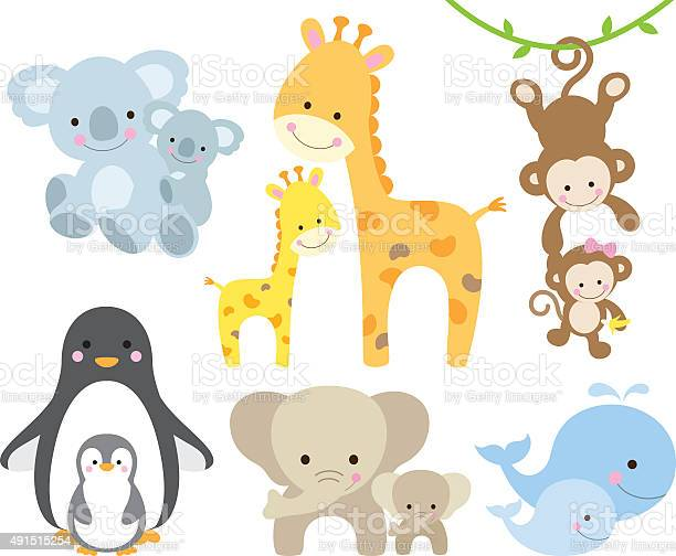 Animal and baby set vector id491515254?b=1&k=6&m=491515254&s=612x612&h=9t1o wvmniu55hn8wcuvfpqwu krpzhmjhmmpkp eou=