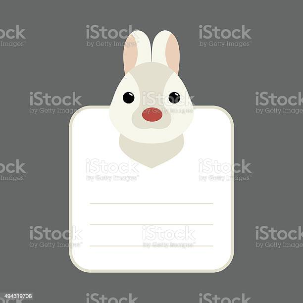 Animal banner with rabbit for you text vector id494319706?b=1&k=6&m=494319706&s=612x612&h=kjz1b71lgdpqjgi3cnicnvccwgee3wkucwbw0mqmtq8=