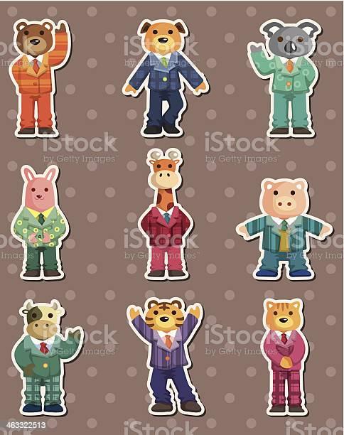 Animal businessman stickers vector id463322513?b=1&k=6&m=463322513&s=612x612&h=1lgxc4trfkbvibnoralfepisamdqdlnaonohkzb5rua=