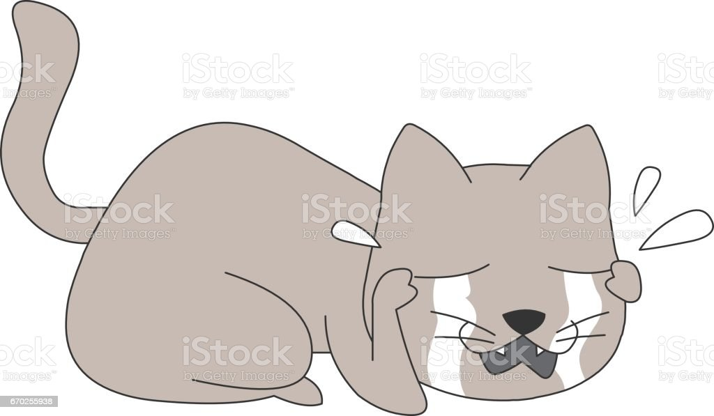 Animal character vector art illustration