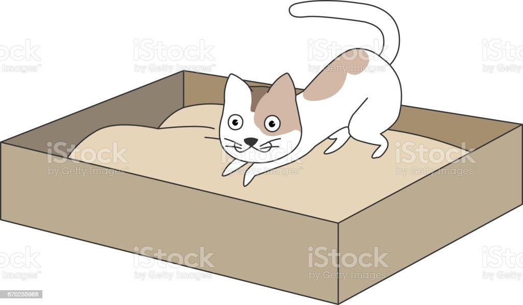Animal character vector art illustration