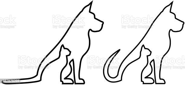 Animal contour silhouettes vector id467576269?b=1&k=6&m=467576269&s=612x612&h=metg9lytq0l3vtbcuay9mfzyxzh40fn9apuuoe7 ouq=