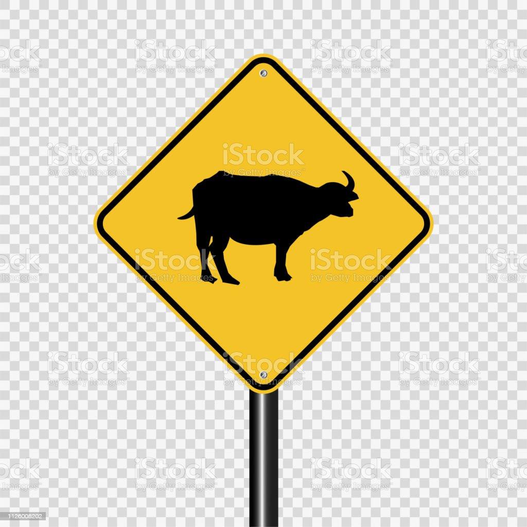 Animal Crossing Sign On Transparent Background Stock Illustration