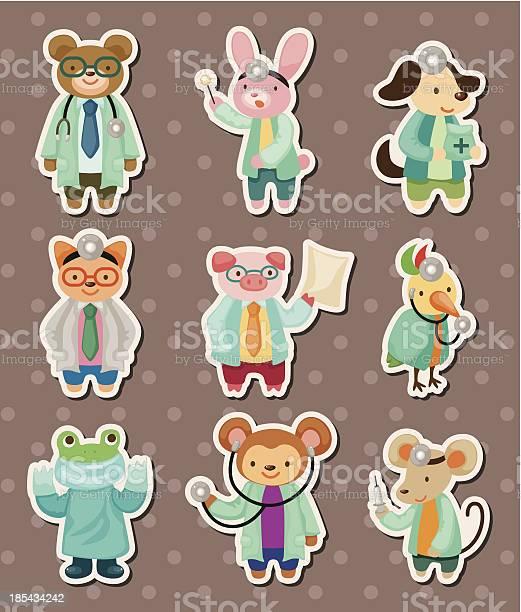 Animal doctor stickers vector id185434242?b=1&k=6&m=185434242&s=612x612&h=855runufnq0dhzcwpqnkcz vgjwyihpmiaqqiebqjqc=