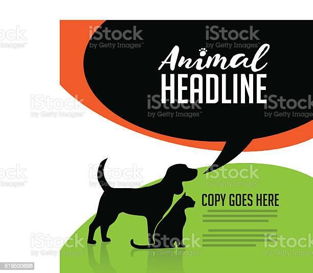 Animal dog and cat poster vector id519500698?b=1&k=6&m=519500698&s=612x612&h=xynxdavnleh wxnpughq0kyqzju29e3zvsusxi7u9cm=