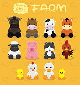 Cute Animal Dolls Collection