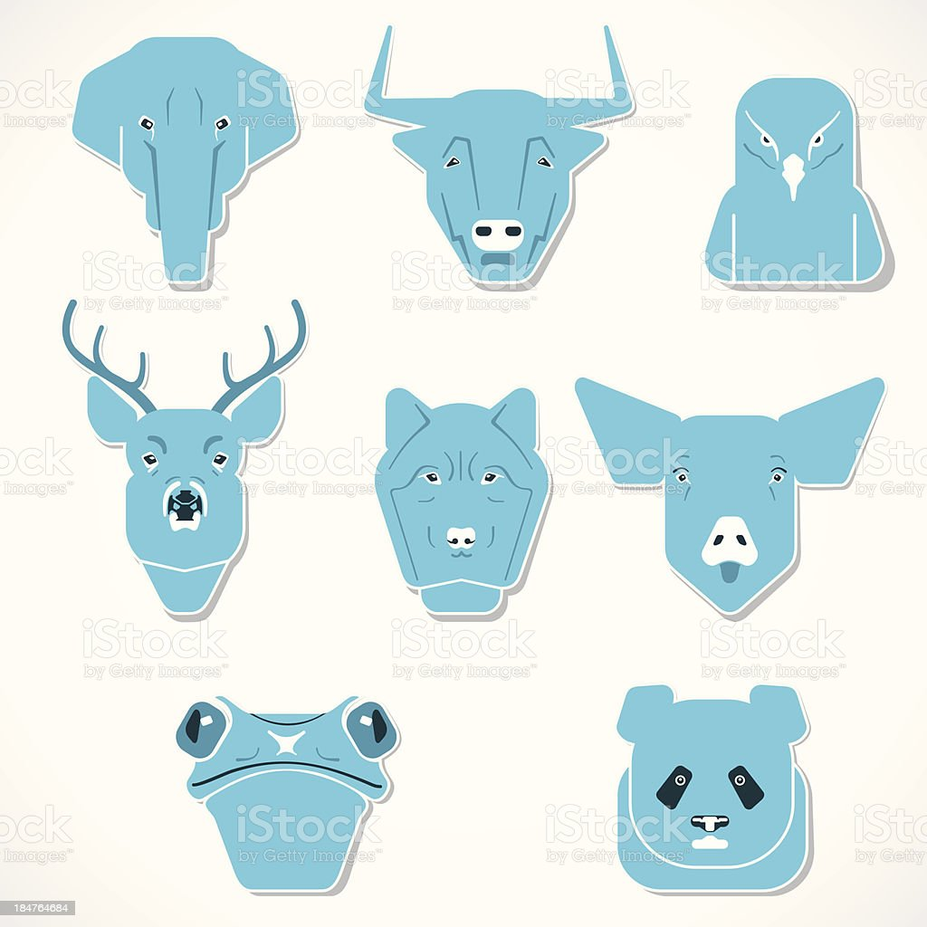 animal face royalty-free animal face stock vector art & more images of africa