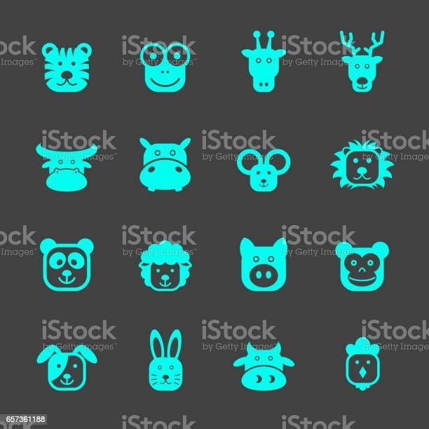 Animal faces icons vector id657361188?b=1&k=6&m=657361188&s=612x612&h=eb3hfndmom4xi8iai3nanjlvxes961hff8ubnvd3byq=