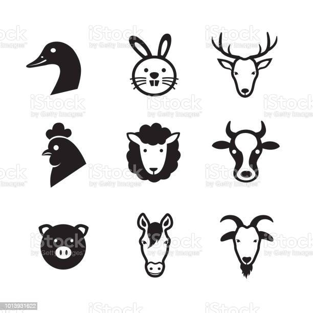Animal farm icons vector id1013931622?b=1&k=6&m=1013931622&s=612x612&h=vaizpwuytbmaythaeyolwl3gxc ud2rdn6lr5cubek0=